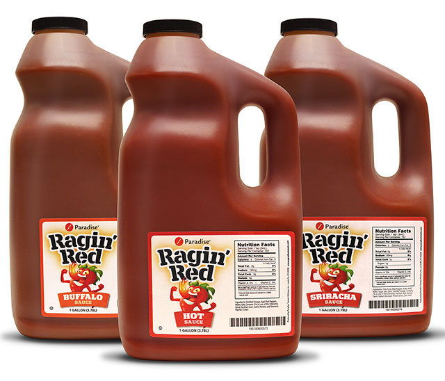 Ragin' Red Hot Sauces